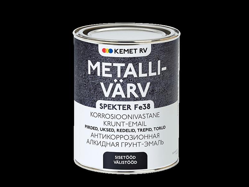 Краска для металла SPEKTER Fe 38