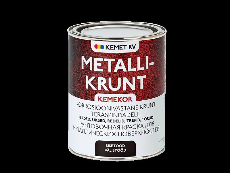 Быстросохнущий грунт для металла KEMEKOR